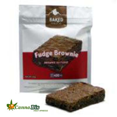 Order baked fudge brownie online