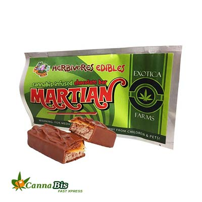 Marijuana infused martian bar edible