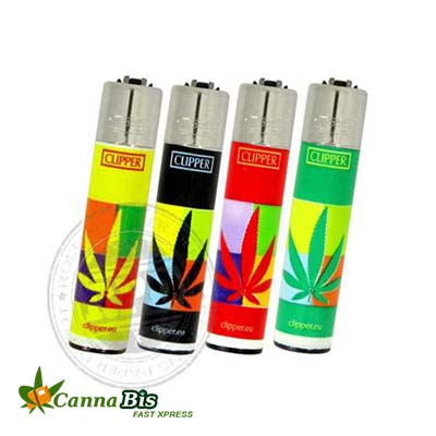 Cannabis printed lighter online