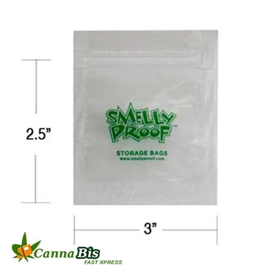 Marijuana Smellyproof-Bags-2X3